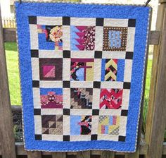 Modern Patchwork Wallhanging