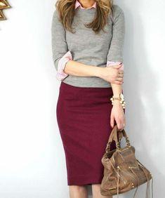 Dear Stylist, Pencil skirts always look good on me. ~Andrea