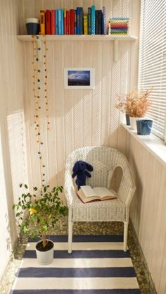 Sweet small balcony - or is it a sunroom?