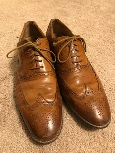 1b27a83d001 Cole Haan British Tan men s Wingtips - Size 13 used  fashion  clothing   shoes