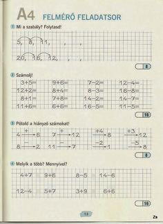Albumarchívum Home Learning, Homeschool Math, Worksheets, Preschool, Album, Teaching, Life, Archive, Santa Ornaments
