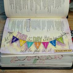Image result for psalm 118:24 Bible journaling