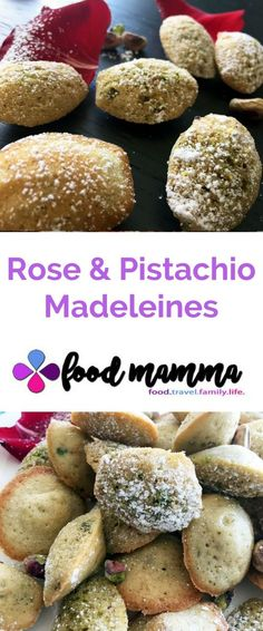 Celebrating Spring & Navroz with Rose & Pistachio Madeleines Madeleine Food, Christmas Entertaining, Snack Recipes, Snacks, Fusion Food, Pistachio, Indian Food Recipes, Good Food, Goodies