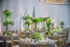 A Romantic Green and White Beverly Wilshire Wedding - International Event Company Beverly Wilshire, Wilshire Hotel, Event Solutions, Event Company, Green Accents, Flower Boxes, Edge Design, Green Wedding, White Roses