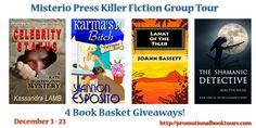 Misterio Press Killer Fiction Group Blog Tour Giveaway!! Ends 12/23