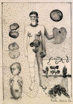 frida kahlo, 1936