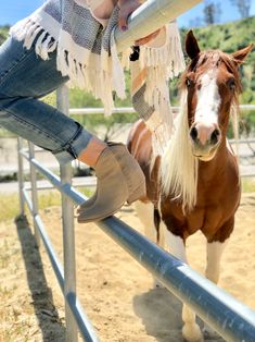 A curious horse and her owner Equestrian Outfits, Equestrian Style, Cowgirl Style, Cowgirl Fashion, Horse Gear, Horse Ranch, Senior Pictures, Senior Pics, Outdoor Life