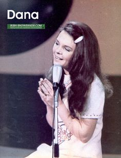 "Dana, winner of the Eurovision Song Contest 1970 with ""All Kinds of Everything"" for Ireland"