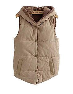 75e2201080b5cf 2016 Women Spring   Autumn Waistcoats Length Jacket Hooded Thick Cotton  Coat Warm Velvet Sleeveless Vests Female Plus Size