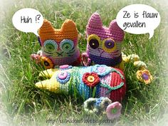 Ravelry: Antoinette06's Crazy Flower Power Cats