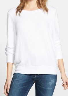 clean white pullover  http://rstyle.me/n/wfuzepdpe