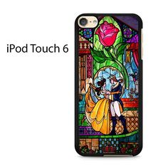 Beauty and The Beast Stained Glass Ipod Touch 6 Case