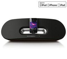www.megaplanet.it La docking stationFidelio Primo di Philips fornisce una potenza sonora di 50 W. Compatibile con iPod, iPad e iPhone e dotata di un dock connector, questo altoparlante riproduce un suono forte e armonioso.