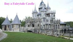 You can buy this real-life almost Disney, Fairytale Castle in Connecticut. Dreams do come true.