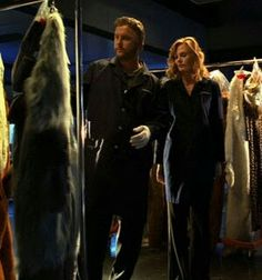 Grissom and Catherine in Fur and Loathing, one of my favorite episodes.
