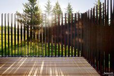 「vertical steel fence」の画像検索結果
