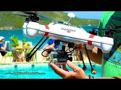 WORLD'S FIRST!  'Mariner' Drone with WATERPROOF GIMBAL, FPV & filming in...