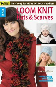 Presenting more great loom knit designs by Kathy Norris, this book includes…