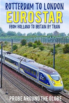 Can Eurostar train really beat flying from Europe to London? : If you travel from the Netherlands to London, UK, you can fly or take the Eurostar to London. Read my surprising comparison if the Eurostar train from Rotterdam can beat flying to London Backpacking Europe, Europe Travel Guide, Travel Guides, Europe Packing, Packing Lists, Europe Destinations, Ouvrages D'art, Train Travel, Trains