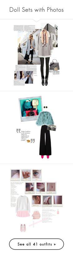 """Doll Sets with Photos"" by jzanzig ❤ liked on Polyvore featuring Prada, Été Swim, ElleSD, Zara, MANGO, Valextra, Burberry, Balenciaga, Polaroid and STELLA McCARTNEY"