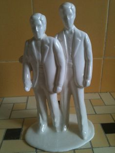 Han Solo porcelain cake toppers