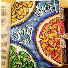 Bible Journaling by Christina Lowery @christinasalive | 1 Samuel 15