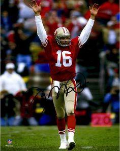 feba7bc2ec8 Joe Montana San Francisco 49ers Autographed 8