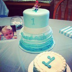 Mermaid themed First Birthday | Bite of Love Cakes
