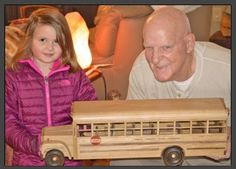 is here and what a throw back. A little one that is growing up fast. And a sassafras hand made school bus for the bus driver's Christmas gift. Customer Stories, Make School, Bus Driver, The Magicians, Woodworking, Buses, Cnc, Craft, Projects