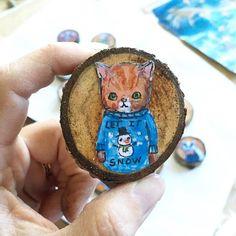 Another day closer to @etsycalgary Made in Canada. Today's photo: behind the scenes. In the maker world Christmas prep starts a bit early. These ornaments are making their debut this weekend!!! #12DAYSMICYYC #jennydaledesigns #jenniferstablesart #yyc #calgary #yycevents #okotoksartist #paintersofinstagram #mycreativebiz #illustratorsofinstagram #etsyseller #etsycalgarymic #etsycalgary #DifferenceMakesUs #etsysuccess #okotoksmarketsquare #vsco #christmasgiftideas #christmasornament…