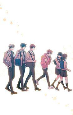 Manga Anime, Manhwa Manga, Otaku Anime, Manga Art, Anime Art, Anime Couples Drawings, Anime Couples Manga, Anime Character Drawing, Cute Anime Character