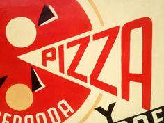 tipografía, lettering, typography, signpainting, pintado a mano, rotulismo, pizarra, menu, vintage, painted, handmade, hecho a mano, dibujo, pizza, diseño gráfico, graphic design