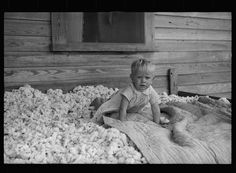 Son of sharecropper who will be resettled on the Irwinville Farms Project, Georgia Photographer Arthur Rothstein Created August 1935 Location Irwin, Georgia