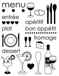 modèle carte menu repas - Recherche Google