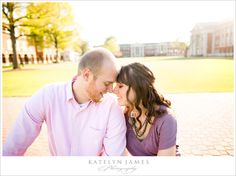 #CNU is so gorgeous in the background! #engagement photo