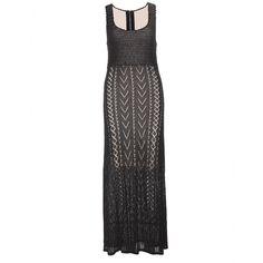 Alice + Olivia - Häkelstrickkleid - Sommerliche Eleganz strahlt das schwarze Häkelstrickkleid von Alice + Olivia aus, das mit seinem figurbetonten Schnitt eine weibliche Silhouette zaubert. Durch die semitransparente Struktur ist das nudefarbene Futter zu sehen, das einen gelungenen Kontrast zur schwarzen Basis bildet. Ob zur Gartenparty oder für den City-Bummel, mit diesem Kleid liegen Sie immer richtig! seen @ www.mytheresa.com