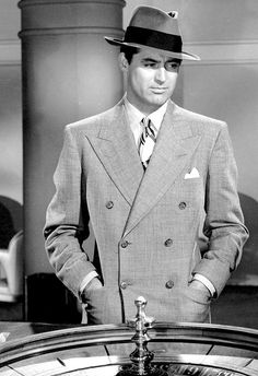 Cary Grant ~ Mr. Lucky, 1943                                                                                                                                                                                 More