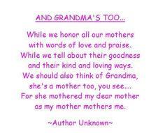 And grandmas too..