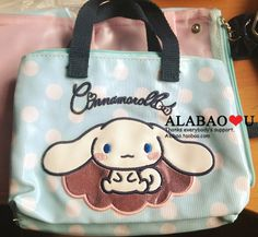 sanrio genuine cinnamoroll white blue bow semicircle Cosmetic wipes pack a small bag - Taobao