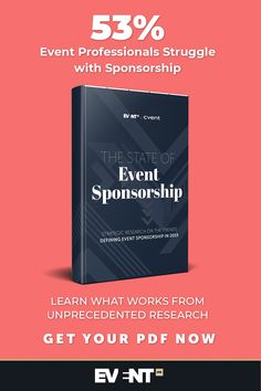 Event professionals struggle with sponsorship. Learn what works from unprecedented research. Get your free PDF. What Works, Event Marketing, Event Management, Company Names, First Names, Research, Pdf, Events, Technology