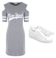 """Untitled #17"" by cocofashion13 on Polyvore featuring adidas Originals"
