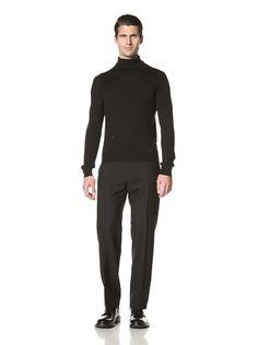 75% OFF Dior Men\'s Turtle Neck Sweater (Black)