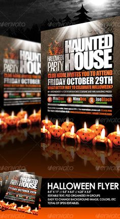 Halloween Flyer by EAMejia   GraphicRiver