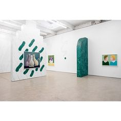 Nicolas Party 'Three Cats' at The Modern Institute, Glasgow until 29 October, 2016 @themoderninstitute @nicolasparty #TheModernInstitute #NicolasParty