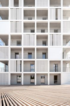 Antonini Darmon - Oiseau des Iles social housing, Nantes, 2014