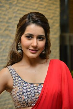 Indian Model Rashi Khanna In Sleeveless red dress Telugu Movie Launch event Beautiful Girl Indian, Most Beautiful Indian Actress, Beautiful Women, Beautiful Hijab, Beautiful Celebrities, Beautiful People, Hot Images Of Actress, Actress Photos, Indian Film Actress