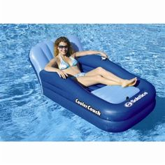 With longer sunny days just around the bend, make sure you've got your favorite pool lounge float ready for action this summer! Here are a few of our faves. http://aquaviews.net/scuba-gear/cool-singleperson-pool-lounge-floats/