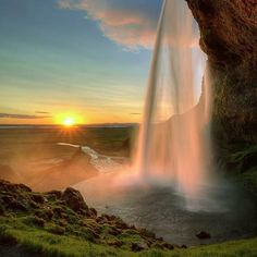 Dream Destination: Seljalandsfoss Waterfall, Iceland