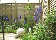 Venetian Wooden Slatted Garden Fencing Panels Garden Fence Panels, Garden  Gates, Dormer House,