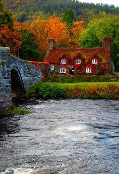 Llanrwst, Conwy, Wales, UK